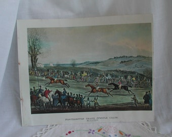 Northampton Grand Steeple Chase March 23rd 1833 Print