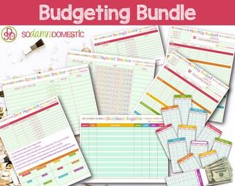 Budget Printable Bundle - Save 5 Dollars