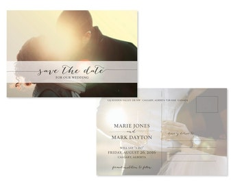 Photo Save The Date (priced per 25)