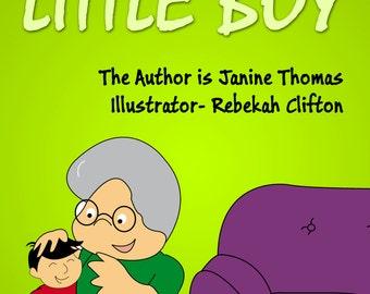 Grandma's Little Girl and Grandma's Little Boy Personalised Kids Story Book