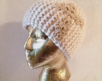 Cross Cloche hat