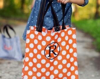 Personalized Halloween Treat Bag - Trick or Treat Bag - Monogrammed Bag