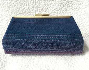 Didymos Indio Sole Occidente clutch, handbag, babywearing purse, woven wrap scrap