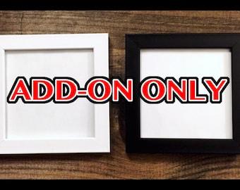 4 x 4 inch frame