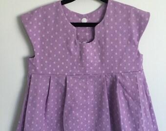 Lilac Cotton Dress