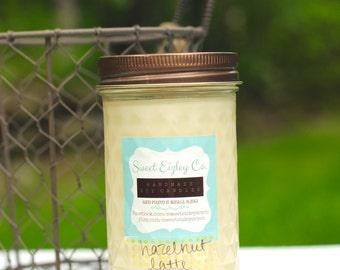 12 oz Hazelnut Latte Soy Candle