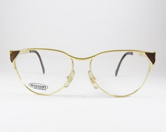 Vintage Eyeglasses, Missoni, Cat Eye Glasses, Oversized Eyeglasses, Cat Eye Sunglasses, Hollywood Glam, Gift for Her, Vintage Sunglasses