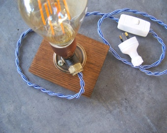 Little industrial pipe lamp