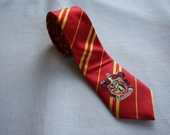 harry potter necktie - harry potter tie red