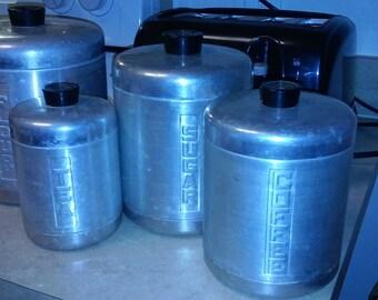 Century Aluminum Canister Set