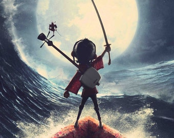 """Kubo And The Two Strings 35"""" Movie Poster"""