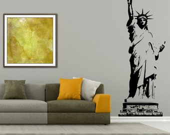 I Love New York Wall Decal, Statue Of Liberty Wall Decal, New York City