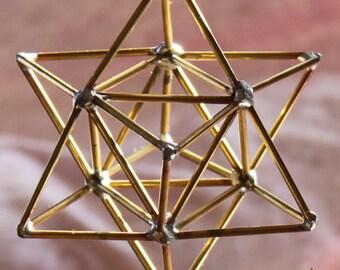 Decoration of the Merkaba pendant