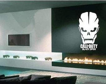 Call of duty wall art room wall sticker/modern warfare/black opps/ghosts/game wall sticker