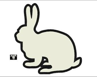 Rabbit Applique Designs in 5 sizes