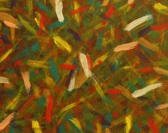 Original acrylic painting on gessobord