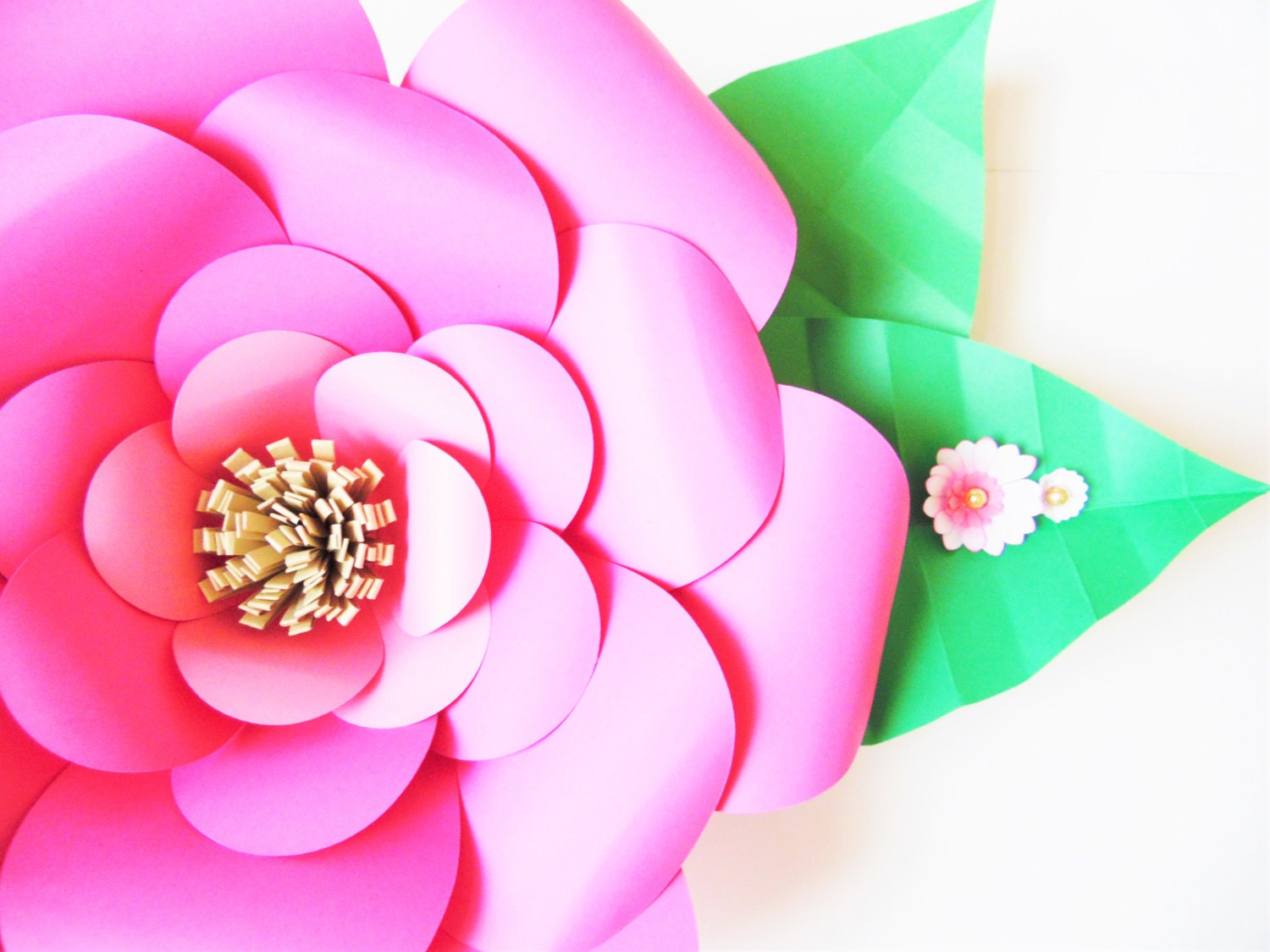 diy paper flower templates easy diy giant paper flowers