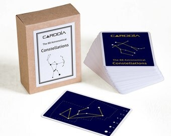 The 88 Astronomical Constellations flash cards