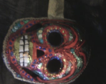 Spanish Festival Mask: Day of the Dead