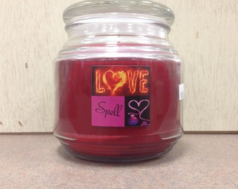 Love Spell VS Type Soy Candle 16 oz