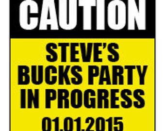 Buck's Night Temporary Tattoos