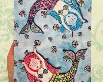 A5 Mermaid Print