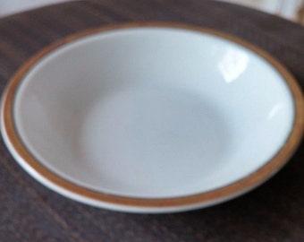 "Antique Paul Muller Selb Bavaria ""THE BARONIAL"" Gold Rim Fruit Dessert Sauce Bowl"
