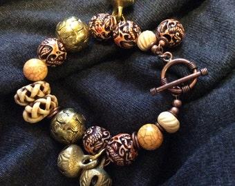 Bells and Beads Bracelet
