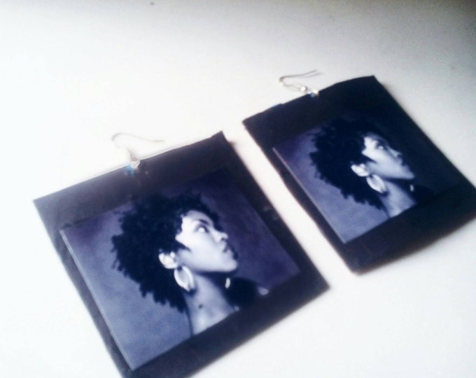 Lauryn Hill hip hop earrings