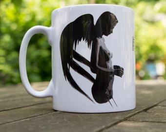 Angel and the Cross Mug