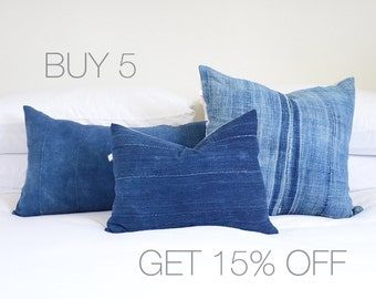 Buy 5 Pillow Covers... Get 15% Off!