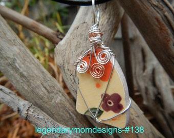 Pottery Necklace #138