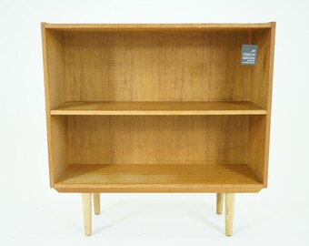 306-069 SALE! Danish Mid Century Modern Oak Bookcase Bookshelf Shelf