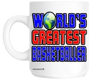 World's Greatest Basketballer Gift Mug shan503