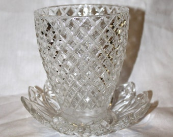 Beautiful Glass Vase, Planter or Dish