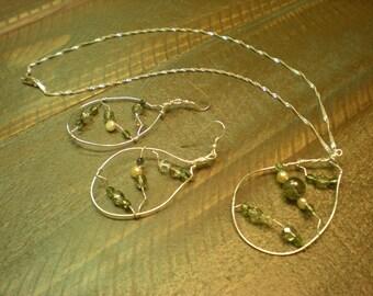 Katie's handmade jewelry - Silver w/beads