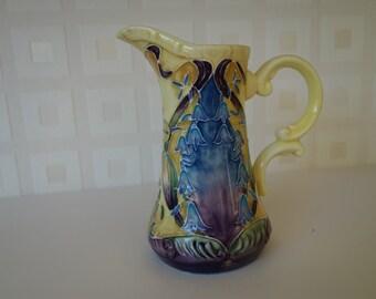 Old Tupton Ware tubelined hand painted milk jug