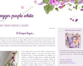 Premade blogger templates, blogger templates, Blogger theme