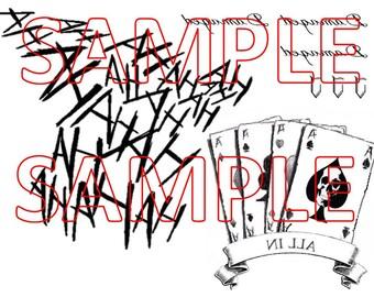DOWNLOAD - Suicide Squad Joker Tattoos