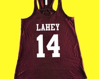 Teen Wolf Shirt, Beacon Hills Lacrosse Tank Top, Lahey 14, Teen Wolf Hoodie Size XS - 2XL - Stilinski, McCall, Hale, Available