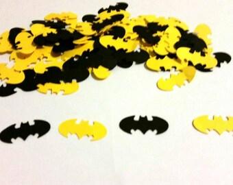 Batman party confetti,  the dark knight confetti CUSTOMIZE YOUR COLOR  200 pcs