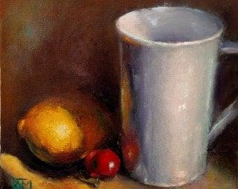7, Still life (oil painting)