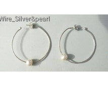 Wire thread earrings silver pendant 0. 7 mm sheet