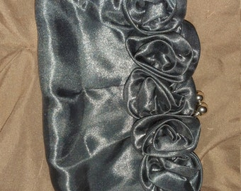 Black formal clutch  perfect for formal or evening wear