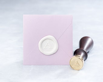 Wax Seal Stamp and Wax Stick Set - Modern Design