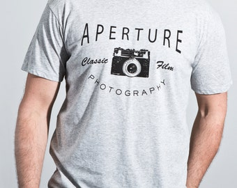 Organic cotton men's t-shirt - Aperture