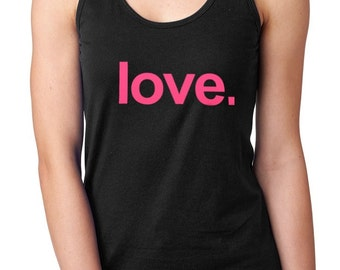 Love-PINK racer back Yoga Activewear Style 153  Cotton/Poly 60/40 Poly/Cotton