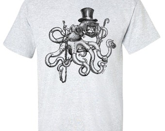 Steampunk Octopus T-Shirt