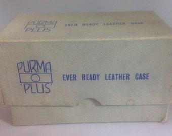 Leather Purma Plus case in original box