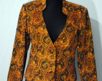Vintage Colourful Women's  Jacket